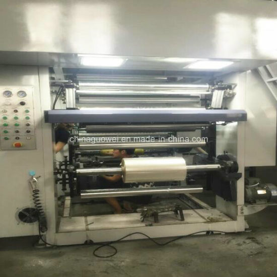 High-Speed 7 Motor 8 Color Gravure Printing Machine with 150m/Min pictures & photos