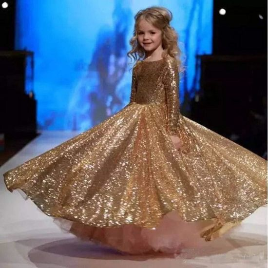 China 2019 New Design Hot Sale Children Evening Dresses For The Stage Show China Evening Dress And Chidlren Evening Dresses Price