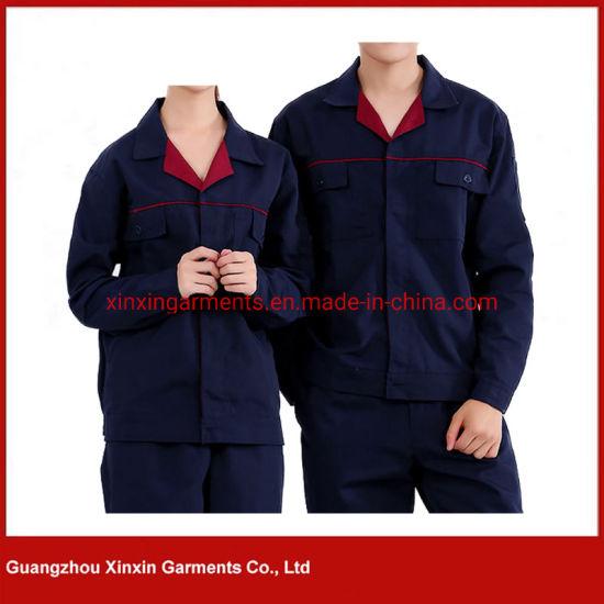 Custom Design Factory Worker Uniform Industrial Mechanic Safety Worker Uniform Wear (W603)