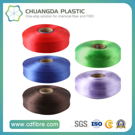 Polypropylene Colorful High Tenacity PP Multifilament Yarn pictures & photos