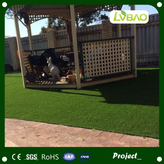 Good Feeling Thick Artificial Landscaping Grass pictures & photos