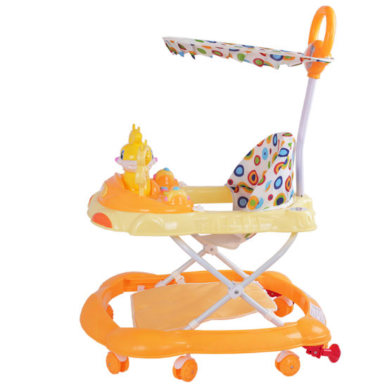 Plastic Baby Products Horse Baby Walker with Music pictures & photos