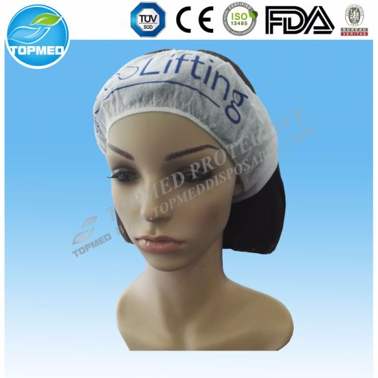 PP Non Woven Headband with Customized Printing pictures & photos