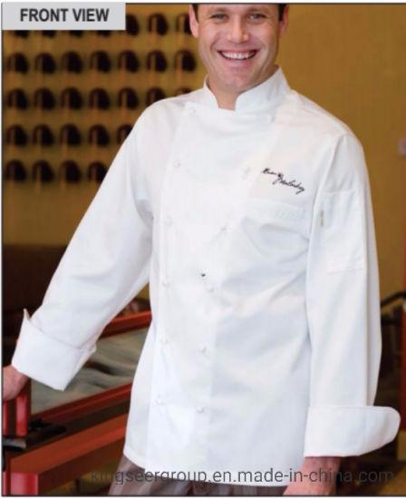 Customized Fashion Workwear Executive Lightweight Chef Coat Uniforms