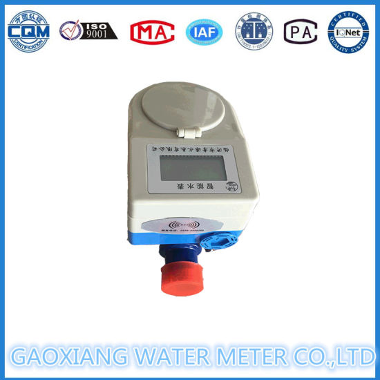 Brass Body Motor Valve Prepaid Water Meter pictures & photos