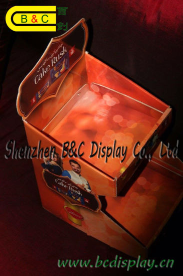 Hot Selling High Quality Printed PDQ Display Box, Counter Paper Box with SGS (B&C-D059) pictures & photos