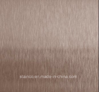 No. 4 Finish Stainless Steel Decorative Sheet pictures & photos