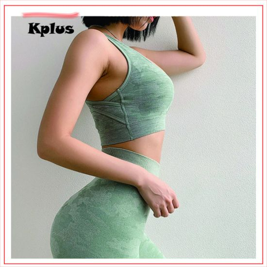 US Women Sport Bra Fitness Workout Gym Yoga Tank Tops Stretch Seamless Crop Top