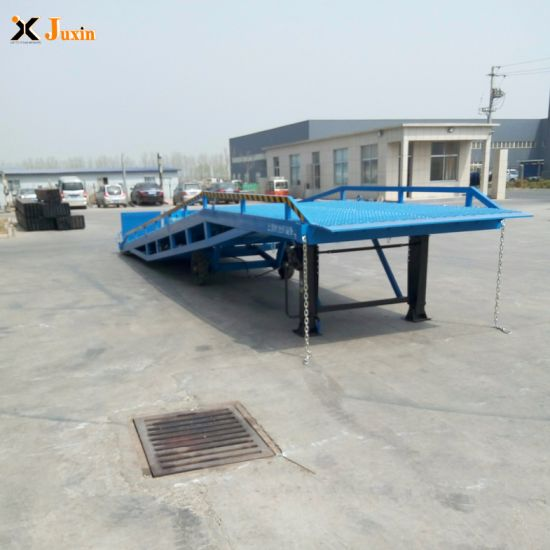 Hydraulic Container Load Ramp with Dcq8-0.6