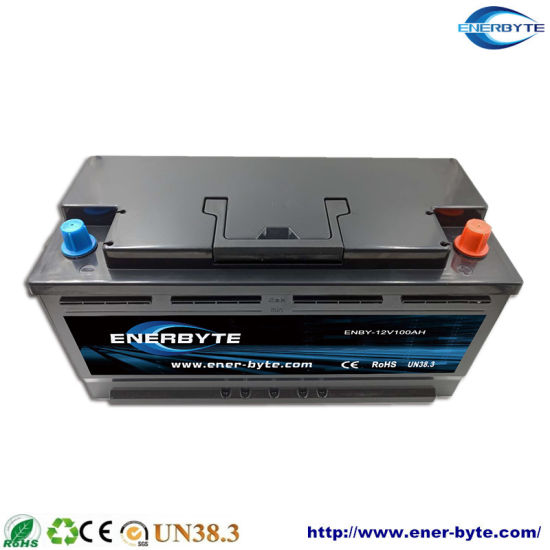 12V 100ah LiFePO4/Lithium/Li-ion Battery for Caravan/ Motor Home Lithium Ion Battery /Marine Lithium Battery