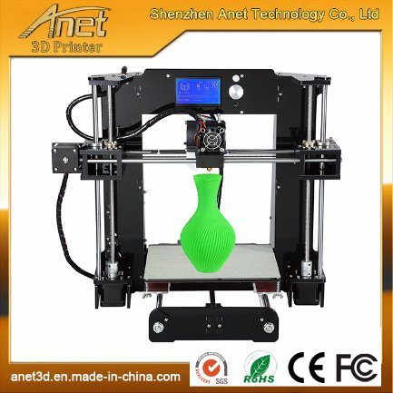Anet 3D Printer Acrylic for jewelry with ABS/PLA Filament Ce/FCC Vertification pictures & photos