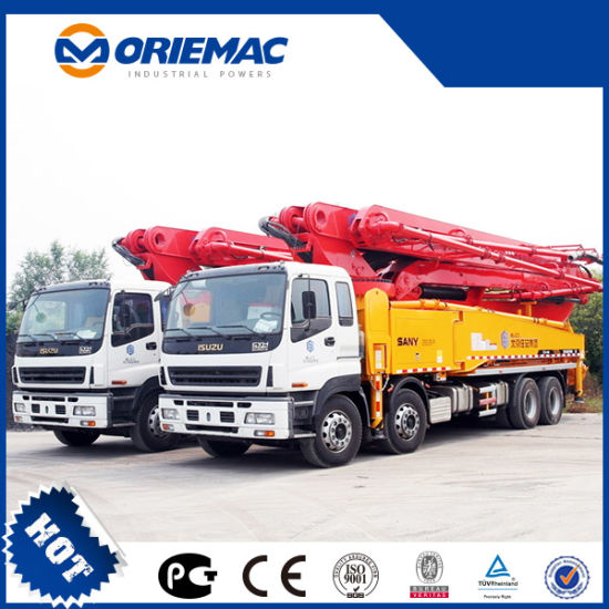 Sany Cheapest Small 38m Mobile Mini Truck Mounted Concrete Pump pictures & photos