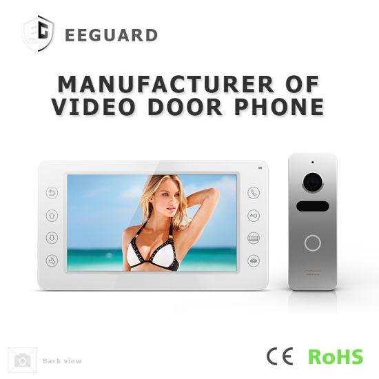 Home Security 7 Inches Video Door Phone Interphone Intercom System pictures & photos