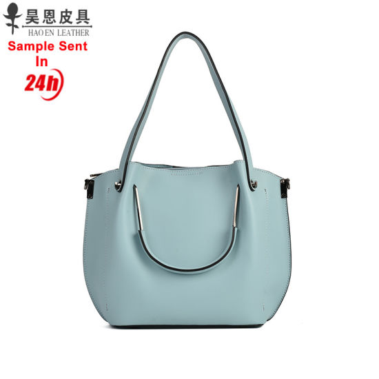 Guangzhou Factory 2018 New PU Leather Fashion Designer Female Ladies Tote  Women Bag 8e0965118f1b8