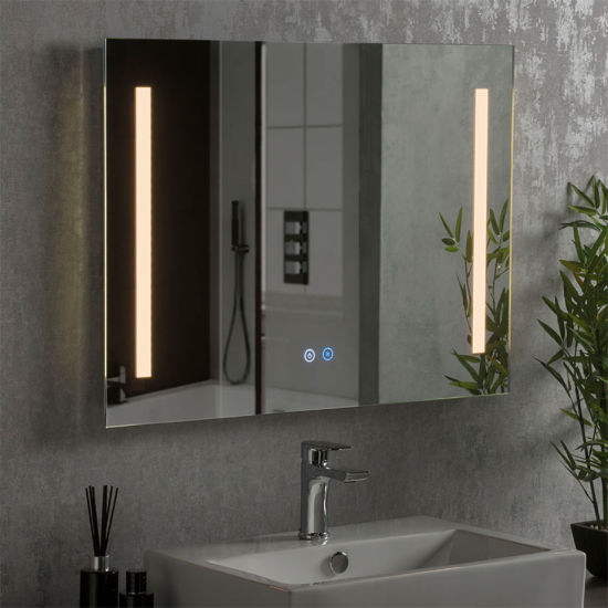 Wholesale Bathroom Frameless Wall Mounted LED Vanity Mirror OEM Factory