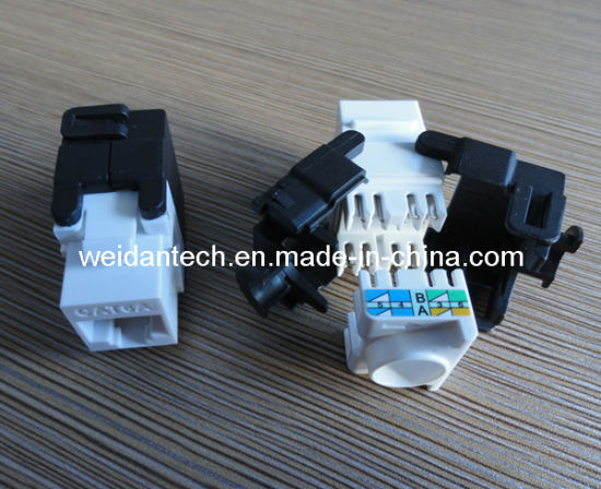 UTP CAT6A Keystone Jack (WD6B-008) pictures & photos