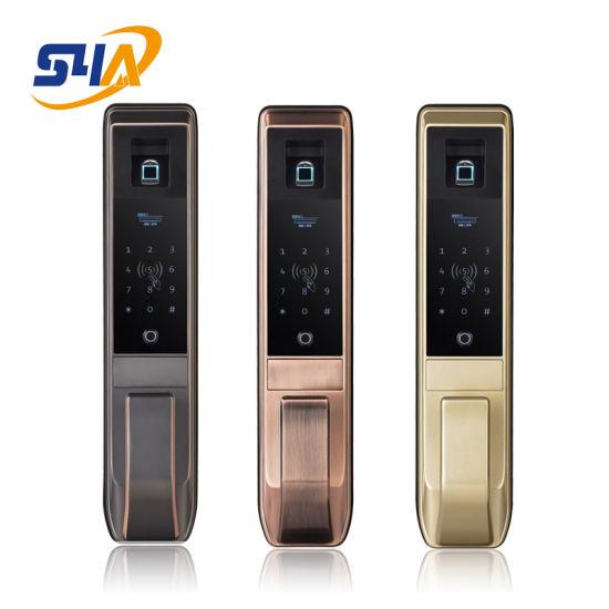 Biometric Fingerprint Lock Gate Access Control Stainless Steel Wireless Door Lock with Keypad