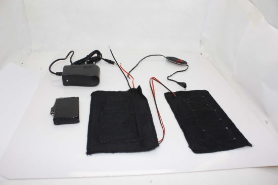Carbon Fiber Battery Heated Belt with 3 Levels Control