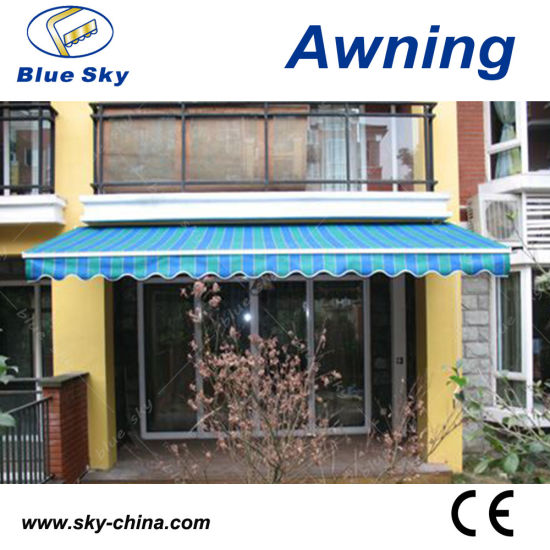 Horizontal Motorized Retractable Awning (B1200) pictures & photos