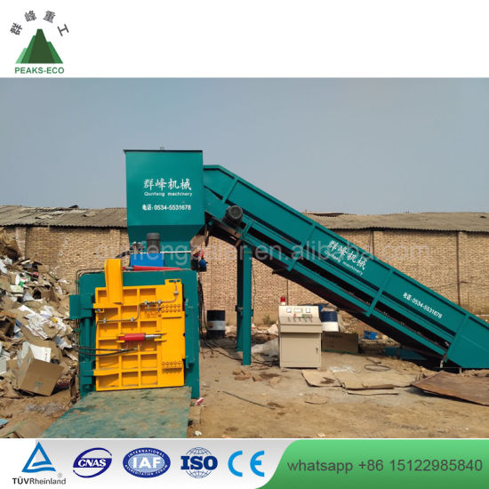 China Hydraulic Scrap Metal Baling Machines with Ce