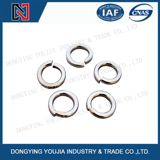 China Gb859 Stainless Steel Single Coil Spring Lock Washers Light