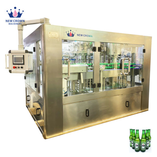 New Technology Factory Made Automatic Canning Machine for Beer