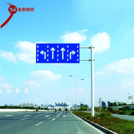 Factory Custom Wholesale Fluorescent and Reflective Traffic Road Street Sign