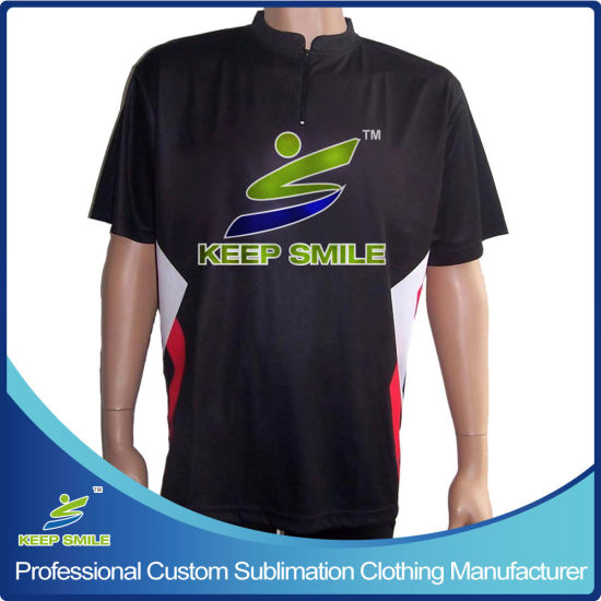 Customized Design Custom Sublimation Bowling Shirt