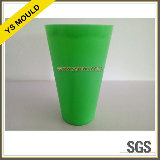 4 Cavities Plastic Injection Green Cup Mold pictures & photos