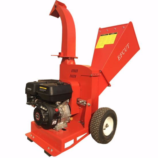 13HP Loncin Engine Wood Chipper Shredder Wood Cutter of High Quality with Ce pictures & photos