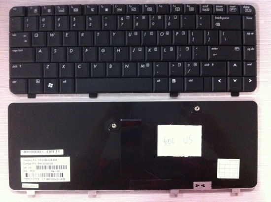 Original Us Layout Laptop Keyboard for HP 500 520 530