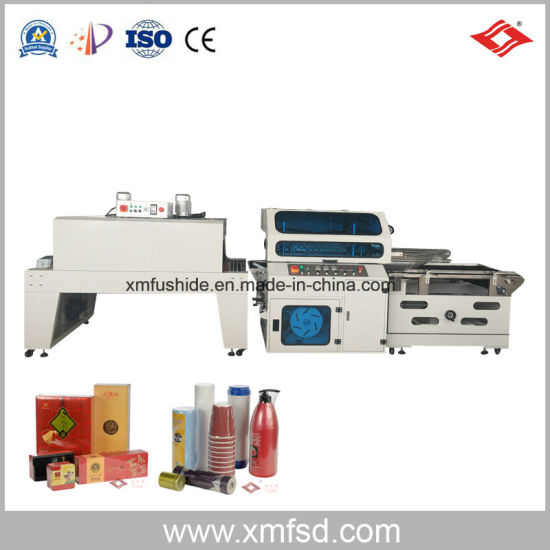Automatic POF Film Heat Shrink Bottles Packing and Wrapping