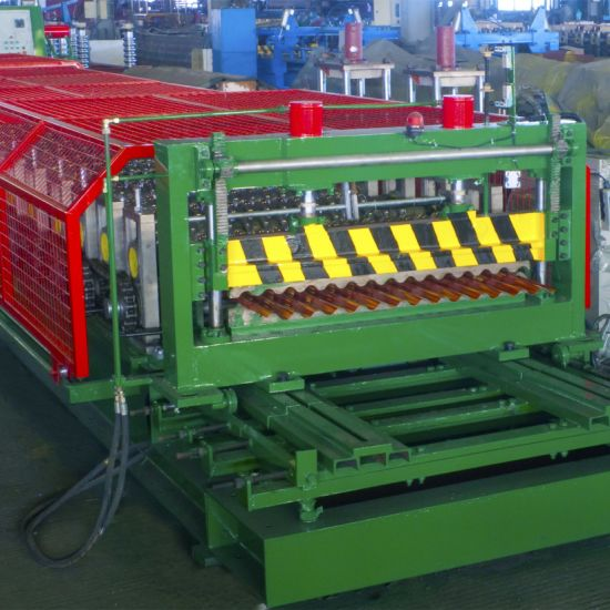 Metal Roofing Sheet Corrugating Iron Sheet Making Machine Cold Roll Forming Machine
