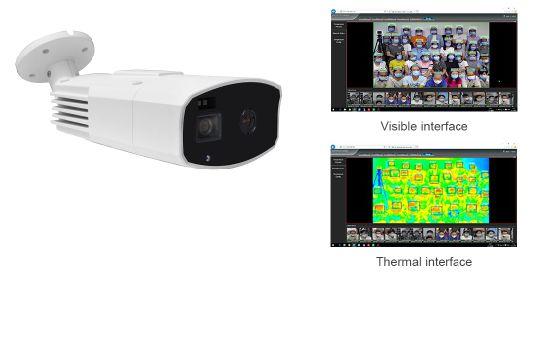 Fsan Non-Contact Multi-People Auto Scanner Temperature Detector Thermometer Camera