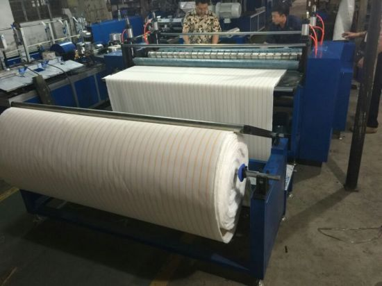 China Automatic Roller Fabric Slitting Machine With