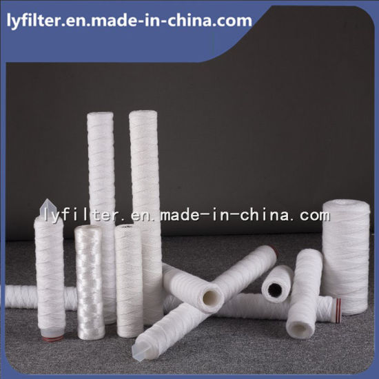 40 Inch 5 Micron PP Yarn Filter Cartridge for Liquid Filtration