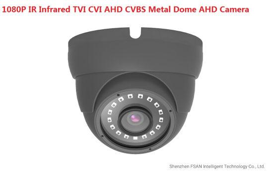 1080P IR Infrared Tvi Cvi Ahd CVBS Four in One Ahd Dome Camera