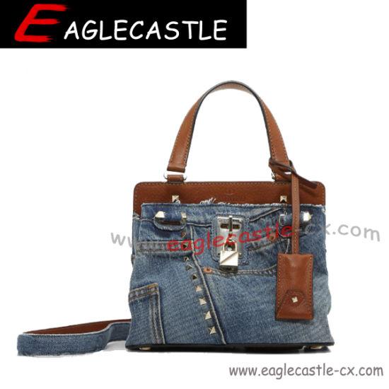Designer's Bag/Lady Fashion Demin Bag/Hotselling Fashion Design Tote/Demin Tote Bag