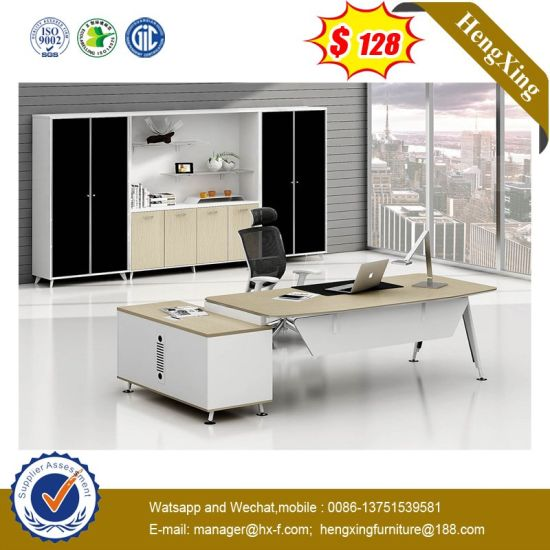 Simple Style Metal Steel Frame Table Manager Office Desk (HX-NT3277) pictures & photos