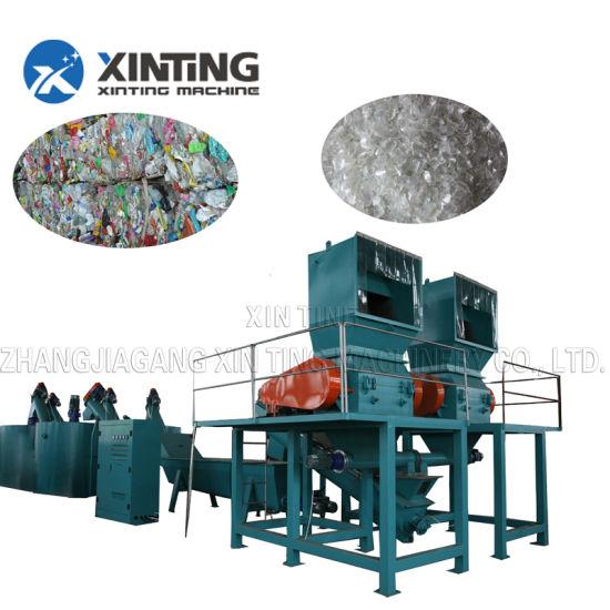Pet Plastic Bottle Crushing Washing Drying Recycling Line