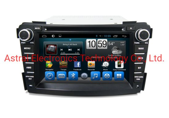 7-Inch Hyundai I40 Android Auto Bluetooth Radio System with GPS Navigation WiFi Carplay DSP Aux RDS Mirror Link Plug&Play