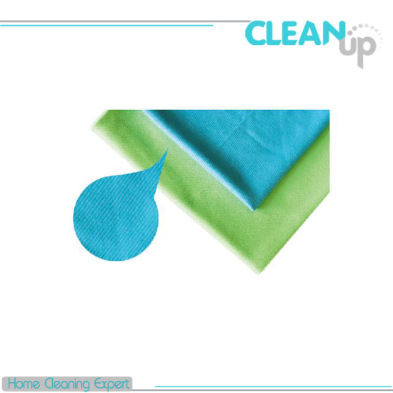 Glass Microfiber Cloth for Window & Car Cleaning