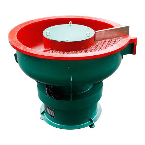 Vibratory Polishing Deburring Machine, Easy Discharging Vibratory Finishing Bowl