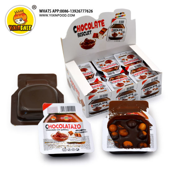 Chocolate Biscuit Wine Shape Factory Sale