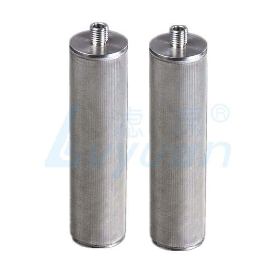 5 Layers Sintered SS316 Mesh Filter Tube High Temperature Resistance Stainless Steel Cartridge Filter