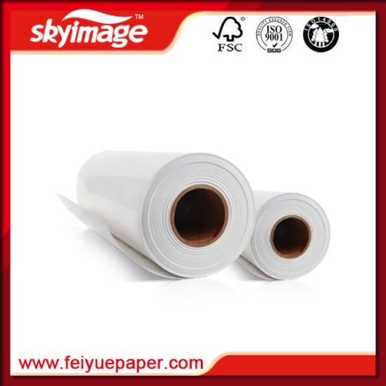 Heavy Weight Sticky Sublimation Paper 100g 36inch for Spandex Printing