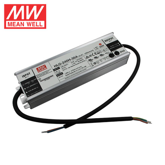Enclosed Switching LED Driver Power Supply with PFC Function Current Adjustable by Output Cable 60V 4A 240W