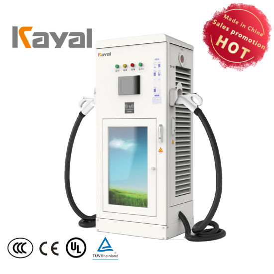 Kayal 30kw Solar Power DC EV Charging Station Charger Battery