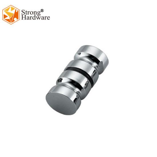Bh-19 Cylindrical Knob, Double Sided Sliding Glass Door Handle
