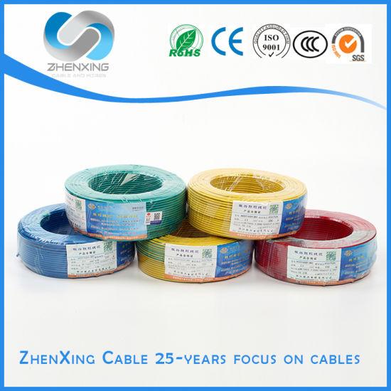Thhn Thwn Standard Copper PVC Nylon Building Electric Conductor Wire
